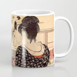 Lovers in an Upstairs Room Coffee Mug