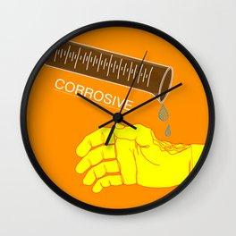 Corrosive Wall Clock