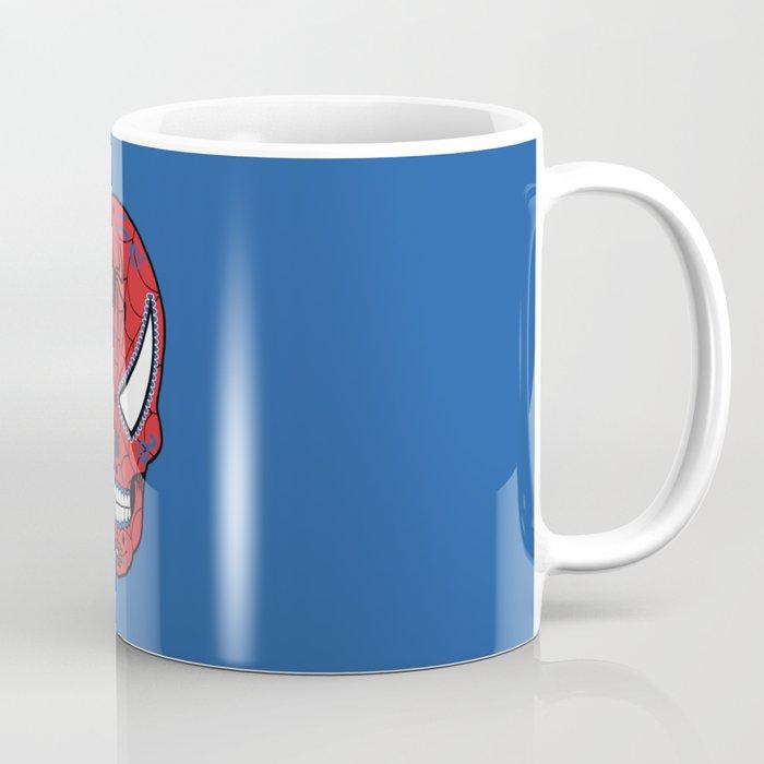 Spidey Sugar Skull Coffee Mug