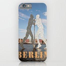 MOLECULMAN in BERLIN iPhone Case