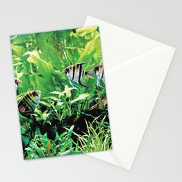 Teardrop Angelfish Stationery Cards