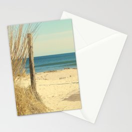 Pathway To The Sea Stationery Cards