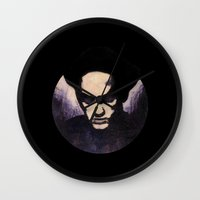 religion Wall Clocks featuring Losing My Religion by Rouble Rust