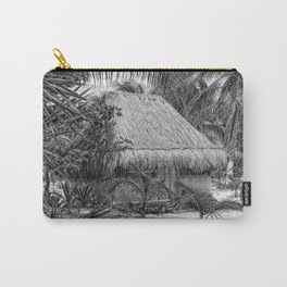 Mexico Hut sketched Carry-All Pouch