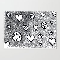 cookies Canvas Prints featuring cookies by Pietro