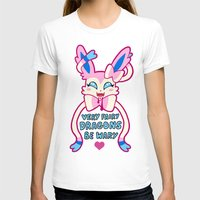 sylveon T-shirts featuring fairy sylveon  by deerboywonder