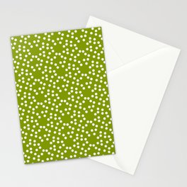 new polka dot 103 green Stationery Cards