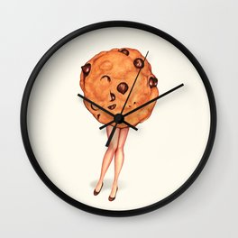 Cookie Pin-Up Wall Clock