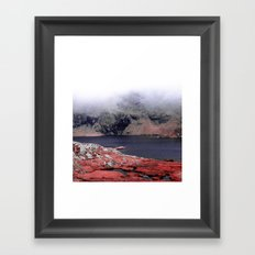 Misty Day Framed Art Print