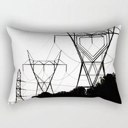 I heart your electricity. Rectangular Pillow