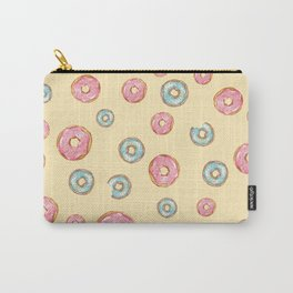 Happy Donuts Carry-All Pouch
