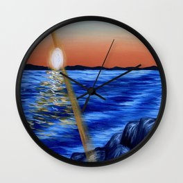 Find Your Light Wall Clock