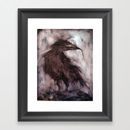 Strange Mind Framed Art Print