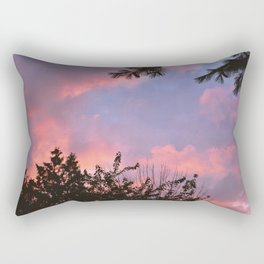 Sunset on August 4th, 2020. VII Rectangular Pillow