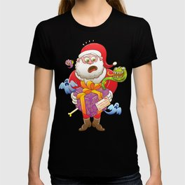 A Christmas Gift from Halloween Creepies to Santa T-shirt