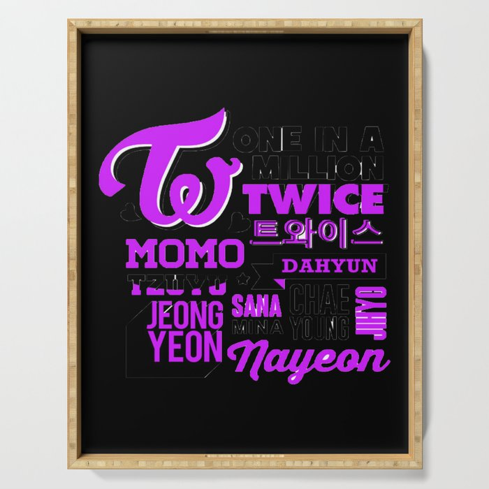 Twice Serving Tray