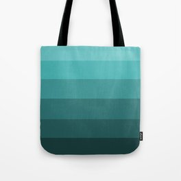 Winter Dark Teal - Color Therapy Tote Bag