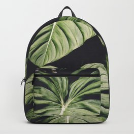 Monstera - Tropical Forest - nature photography Backpack