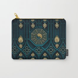 Leo Abstract Background Carry-All Pouch