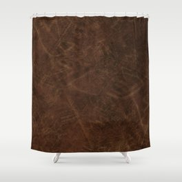 The Grunge Look Shower Curtain