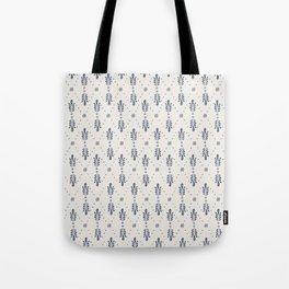 Indigo Meadow Tote Bag