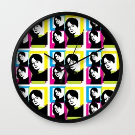 DOROTHY PARKER - AMERICAN POET, WRITER, CRITIC AND SATIRIST Wall Clock