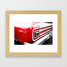 Chevy Malibu Framed Art Print