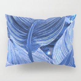 Alien plant life blue Pillow Sham
