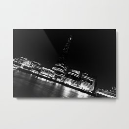 The River Thames Metal Print