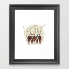 THE BAND Framed Art Print
