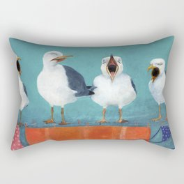 Gaviotas Rectangular Pillow