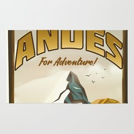 "Andes ""For Adventure!"", Rug"