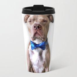 Bean in a bowtie Travel Mug