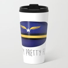 I'm Pretty Fly Metal Travel Mug