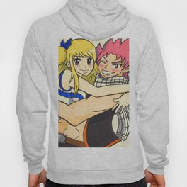 Natsu and Lucy- Fairy Tail Hoody