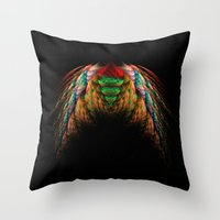 wings Throw Pillows featuring Wings  by jbjart