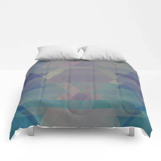 The Clearest Line VII Comforters