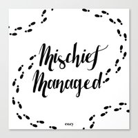 marauders Canvas Prints featuring Marauders by Cozy Daily