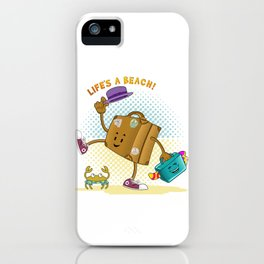 Life's a Beach iPhone Case