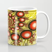 chinese Mugs featuring Chinese Balls by Alice Gosling