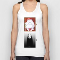 spirited away Tank Tops featuring Spirited Away by Leamartes