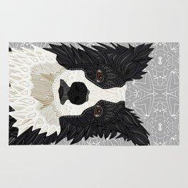 Beautiful Border Collie Rug