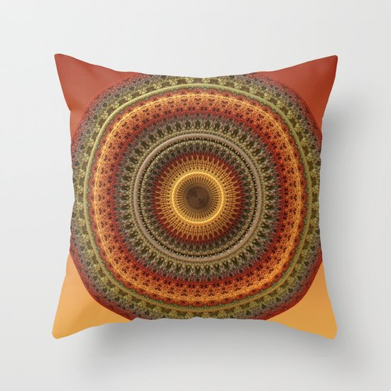 Mandala 02062013-1 Throw Pillow