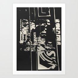 Urban decay 6 Art Print
