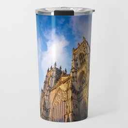 York Minster Cathedral in York, England Travel Mug