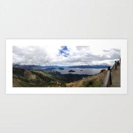 Nahuel Huapi, Bariloche, Argentina Art Print