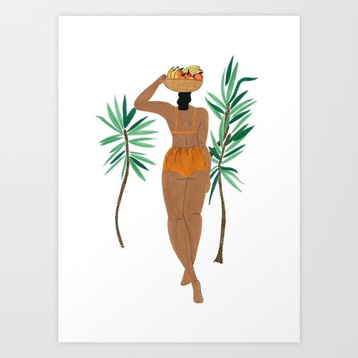 Fruit Basket Gal Kunstdrucke