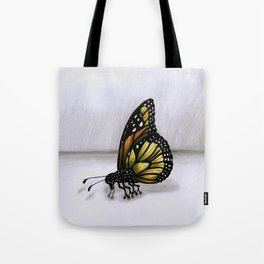 Surrealist Butterfly. Tote Bag
