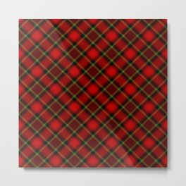 Scottish Fabric Metal Print