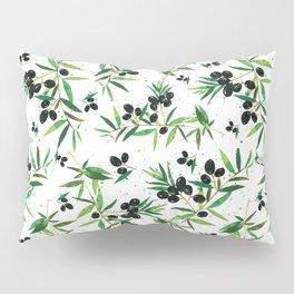 Olive Branch Pattern Pillow Sham